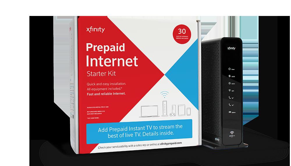 XFINITY Prepaid Internet